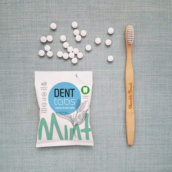 DENTTABS pasta do zębów zero waste w tabletkach 2