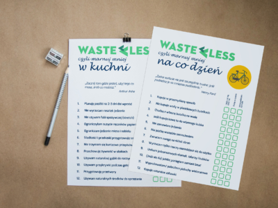 checklisty less waste
